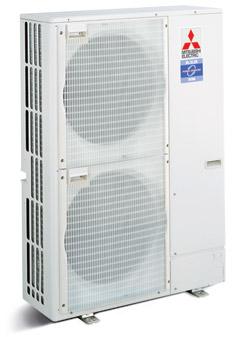 שונות משאבת חום אינוורטר אקודן ECODAN ובקר FTC3 תוצרת מיצובישי אלקטריק MJ-49